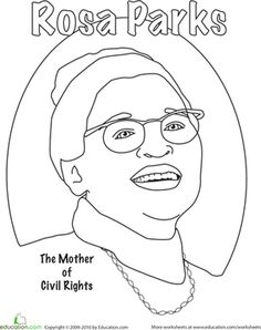 Black History Month or Women's History Month coloring book