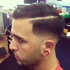 Pompadour Taper #barber #haircuts Haircuts Pinterest Barber