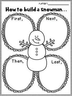 Winter The Holiday Season Christmas First Grade Second