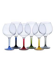 party balloon glass colours base