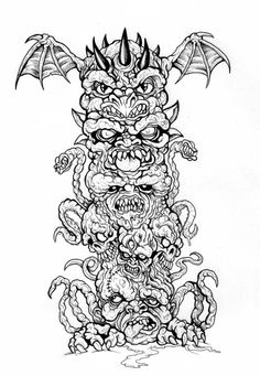1000+ images about tattoo designs totems and traditioneel