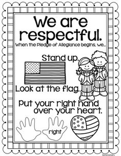 Pledge of Allegiance FREEBIE and a pretty cute story to go