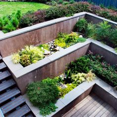 All The Angles Covered Gardens A Well And Wall Ideas