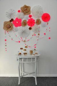DIY Home Decor Wall Art: Scrapbook Paper Flower Wall Art ...