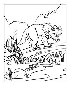 Land before time, Coloring pages and Free printable on