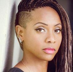 Mc Lyte Braids With Undercut Hair Next Pinterest Ghana