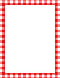 Printable BBQ border Free GIF JPG PDF and PNG