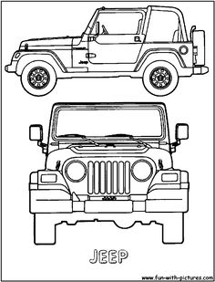 Jeep Wrangler Drawing T Shirt SMLXL by TJaysTees on Etsy