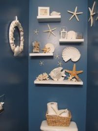 1000+ ideas about Seashell Bathroom Decor on Pinterest ...