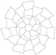 Free PDF downloads of Zendala (round Zentangle) images to