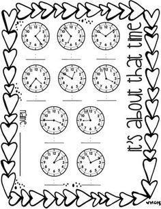 Leer la Hora en un Reloj Analógico en Intervalos de 5