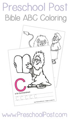 Bible ABC Letter of the Week Curriculum Notebook! One