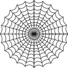 Spider Web Clip Art, Spooky Halloween Clip Art, Digital