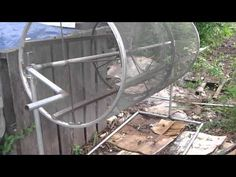 Rotating Compost Sifter Youtube