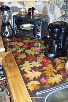 epoxy resin kitchen countertops resurface cabinets cordwood table top | countertop: eastern red ...