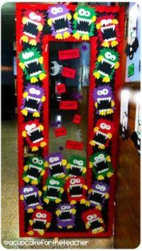 1000+ ideas about Monster Door Decoration on Pinterest ...