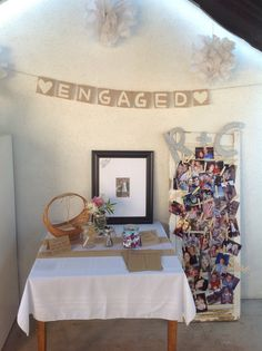 Engagement Parties Ideas At Home Home Decor Ideas