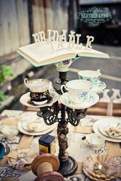 vintage tea party we