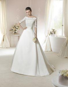 2016 St Patrick Lace Princess Wedding Dress ZUREDA Style Maybe