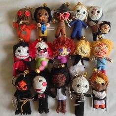Voodoo String Doll Of Freddy Jason Michael And