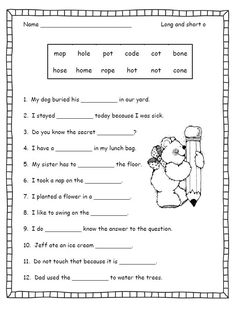 Class 1 Color And Identify The Vowels And Consonants