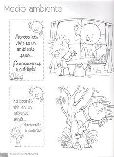 imagenes para cuidar el medio ambiente para niños