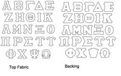 Letter stencils, Stencils and Letters on Pinterest