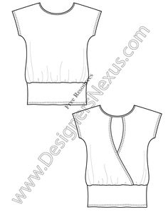 1000+ images about Free Fashion Flat Sketches on Pinterest