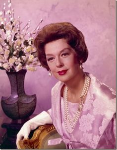 Actress Rosalind Russell on Pinterest | Auntie Mame, Nicky Hilton ...