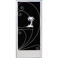 Palm tree screen door   Decorating, House Stuff ...