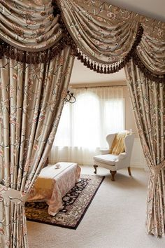 Curtain With Valance Attached Decorate Our Home With Beautiful