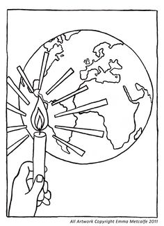 God So Loved The World (Coloring Page) Coloring pages are