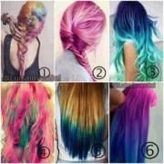 1000 crazy hair color