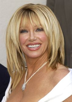 Best Medium Hairstyles You'll Love Suzanne Somers And Hair Style