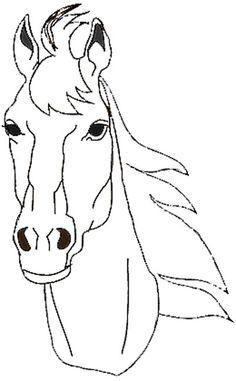 Ausmalbilder Pferde Springreiten