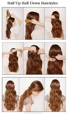 How To Make Easy And Stylish Hairstyle Hairstyles Glossy Hair