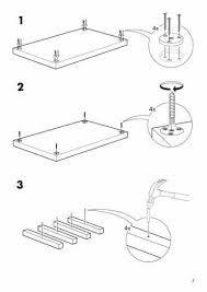 Ikea Flat-Pack Instructions Flat-pack instruction manuals