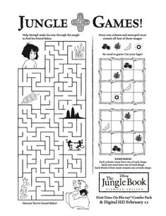 Here is a free jungle crossword puzzle. Compliments of