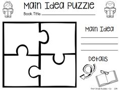 FREEBIE center for identifying main idea and detail. BE
