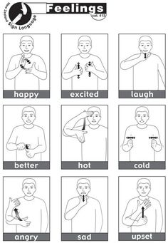 Makaton, Auslan edition key signs. Taken from http://www