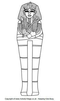 Free Printable Ancient Egypt Coloring Pages For Kids