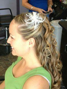 Half Up Half Down Wedding Hairstyles DESTINATION WEDDING