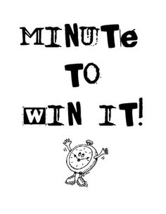 1000+ images about Minute to Win it PTO Mother-son-fun on