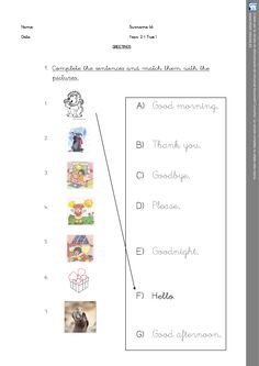 Dice Spanish Greetings worksheet. Personal Teaching