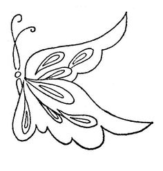 Purple butterfly, Clip art and Butterfly drawing on Pinterest