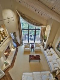 Window Coverings vaulted ceiling window treatments, exotic