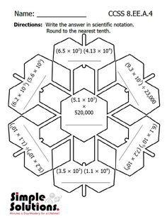 1000+ images about Math- Exponents on Pinterest