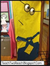 Minion Door Decorations on Pinterest | Minion Door, Minion ...
