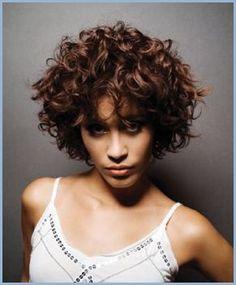 Dauerwelle Kurze Haare Lockige〰wellige Haare Pinterest
