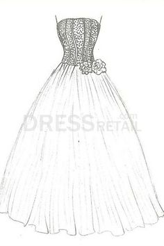 1000+ images about Ball gown coloring pages and embroidery